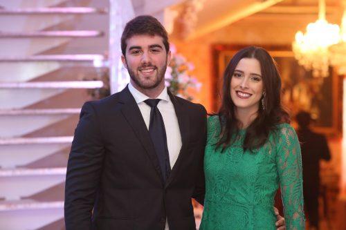 Igor Pinheiro e Amanda Timbo