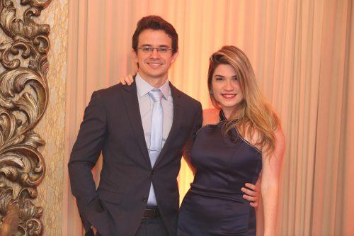 Rafael Albuquerque e Jessica Ximenez