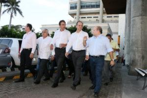 Visita do ministro da sade ao IJF