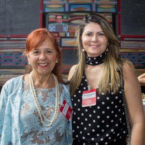 Fátima Duarte e Michelinne Pinheiro