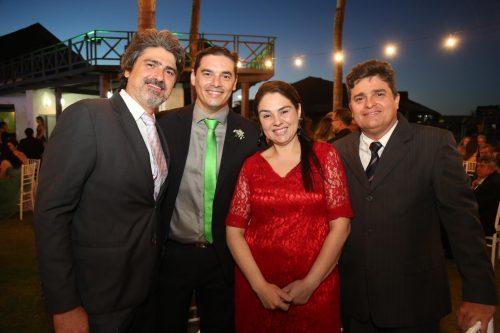 Henrique Hisssa Daniel E Carol Rodrigues e Edilsen Junior