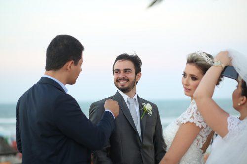 Renan Sampaio e Clarissa Candeias