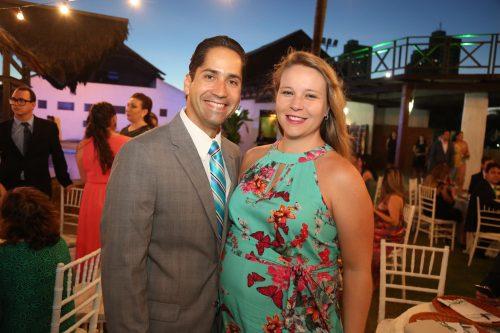 Rodrigo Rodrigues e Priscilla Jansen